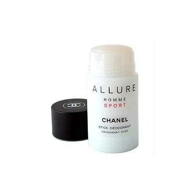 Chanel Allure Pour Homme Sport 2.oz / 75 Ml Deodorant Stick