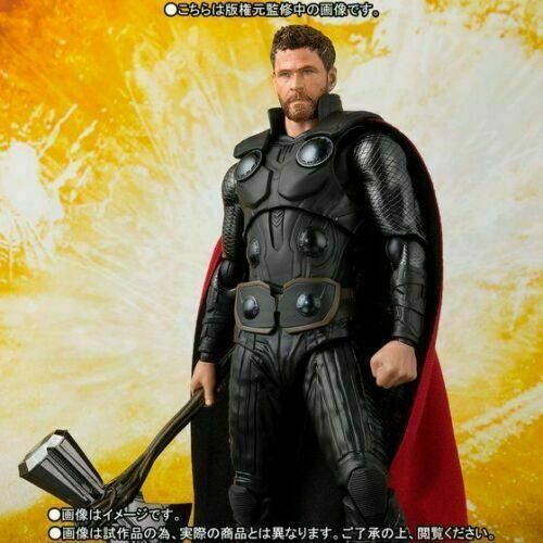 S.H.Figuarts Avengers Infinity War Thor SHF Action Figures Brithday Kid Gift