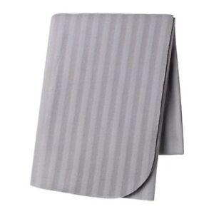 IKEA FLEECE THROW VITMOSSA 120X160 CM Warm Blanket Machine Washable