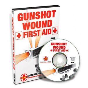 DVD Gunshot Wound First Aid 7813