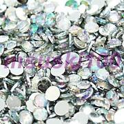 Flat Back AB Crystals