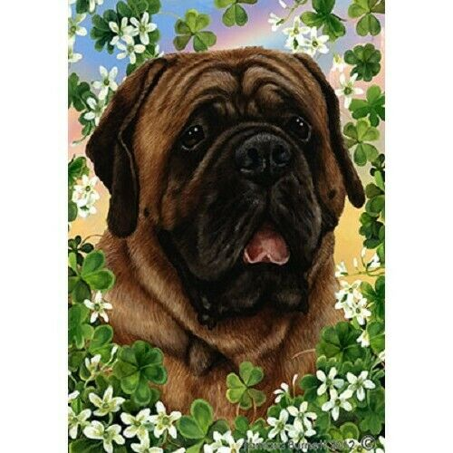 Clover Garden Flag - Red Mastiff 312761