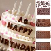 Chocolate Letter Moulds