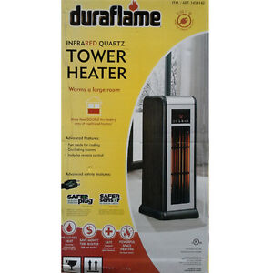 Duraflame Infrared Quartz Tower Heater !!! NEW IN THE BOX !!!