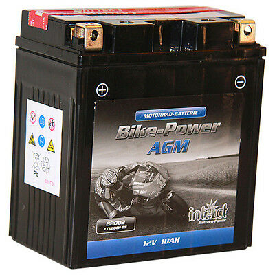 Intact Bike-Power AGM 82002 PREMIUM Motorradbatterie 18Ah YTX20CH-BS *NEU*