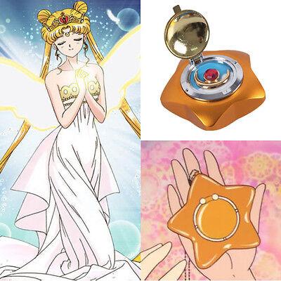 Sailor Moon Crystal Music box Musikbox Stern Star Cosplay Kostüm Costume Metal
