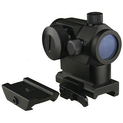Micro Dual  Red Green  Red Dot Sight With Qd Riser Mount  Low Profile Base