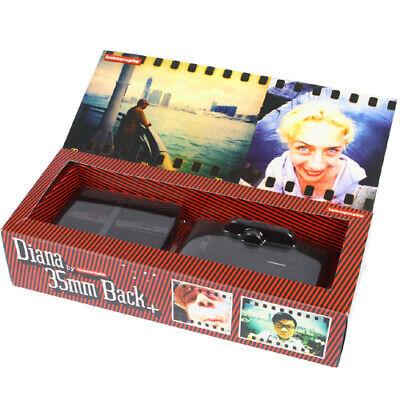 Lomography Diana+ 35mm Back Shoot all types (color, slide, B&W) for Diana F+