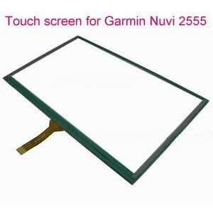 Replacement touch screen glass for Garmin Nuvi 2460-2555-2595 +