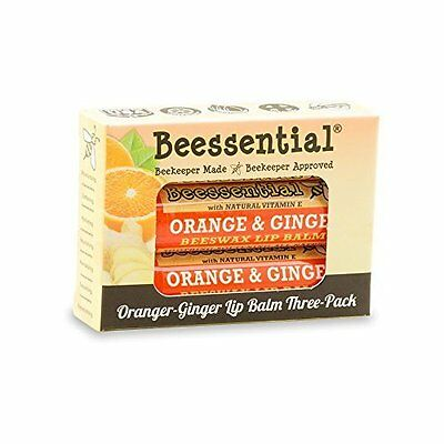 Orange Ginger Bestselling Lip Balm to moisturizing lips Pack of 3