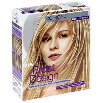 - L'Oreal Frost & Design Pull-Through Cap Highlights H85 Champagne