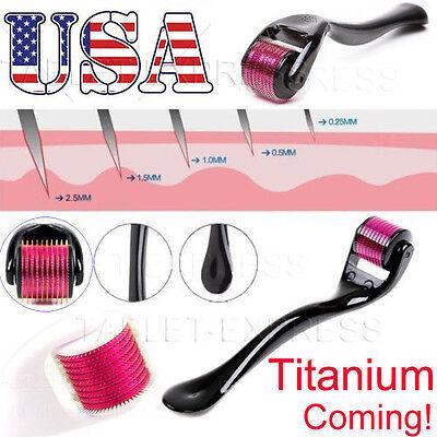540 Titanium Microneedle Scar Derma Roller Dermaroller Micro