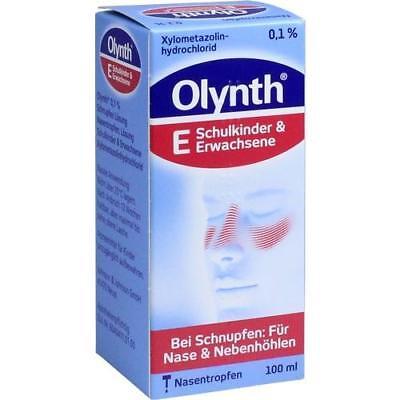 OLYNTH 0,1% für Erwachsene Nasentropfen 100 ml 02340438