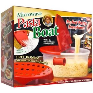 Microwave Pasta Boat (As seen on TV)