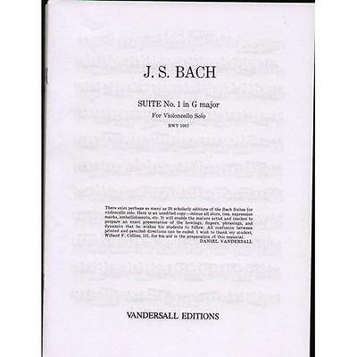 Bach 6 Cello Suites BWV 1007-1012 / Vandersall