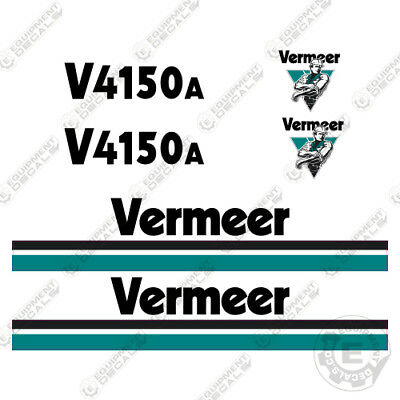 Vermeer 4150a Trencher Decal Kit Backhoe Sticker Replacements