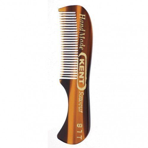 Kent 81T- Men's Handmade Beard/Moustache Comb, X-Small