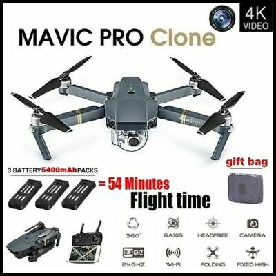 Eachine E58 4K HD Camera WIFI FPV 2.4G Foldable Selfie Drone RC Quadcopter·