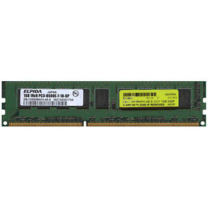 1GB PC3-8500 DDR3-1066MHz Unbuffered CL7 Memory