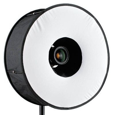 Roundflash Universal Collapsible Magnetic Ring Flash Diff...