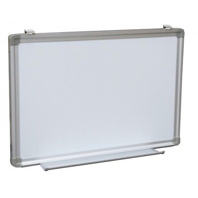 Dry Erase White Board Sign Tray Menu Magnetic Framed 24 X 36 Aluminum Whiteboard