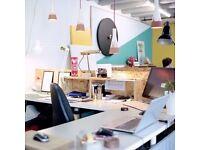 Collaborative Creative Studio + Equipped Workshop
