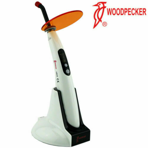 100% Original Woodpecker LED.B Dental Wireless Curing Light Lamp 1400mw