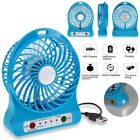 Rechargeable Battery Portable Fans