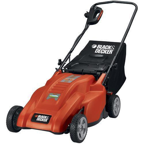 Black Decker Electric Lawn Mower Ebay