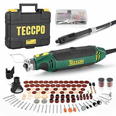 Mini Amoladora Eléctrica, TECCPO Herramienta Rotativa Tool 135W, 10000-35000