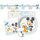White Birthday, Child Mickey Mouse Party Supplies