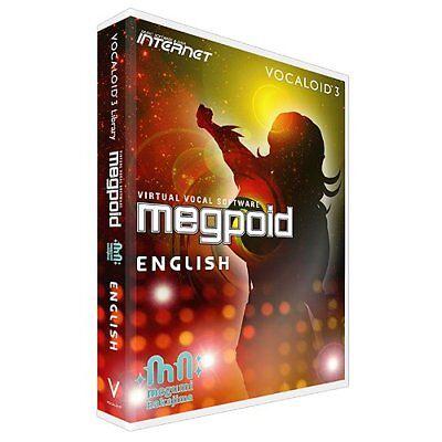 Internet Megpoid English Vocaloid3 Library DVD Software Windows NEW