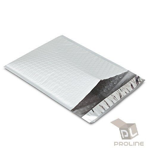 25 pcs #0 Poly Bubble Padded Envelopes Self-Sealing Mailers 6X10 (Inner 6x9)