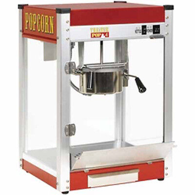 New Paragon Theater Pop 4 Ounce Popcorn Popper Machine - Made In The Usa