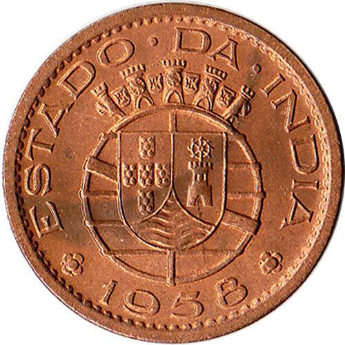 1958 India (Portuguese) 10 Centavos Coin KM#30
