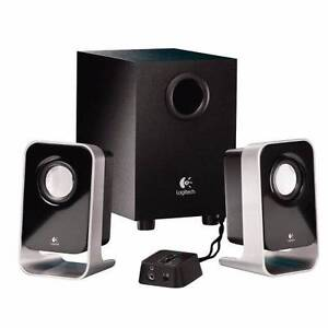 LOGITECH LS21 Stereo Speakers + Subwoofer for PC Home Audio iPod North Lakes Pine Rivers Area Preview