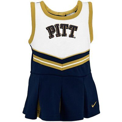 Nike University of Pittsburgh Pitt Panthers Cheerleader Costume Dress Girls 3T - Panthers Cheerleader Costume