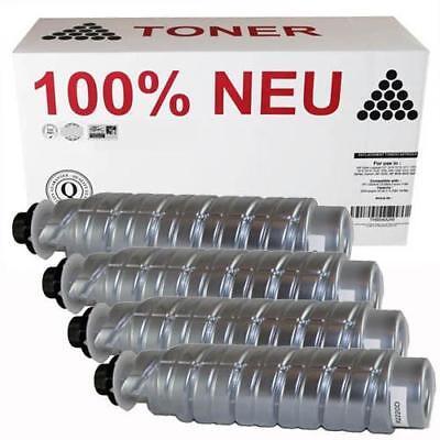 4 X Neue Toner (4x Toner Patrone Kartusche 100% NEU kompatibel für Ricoh Aficio 2220D 2220 1022)
