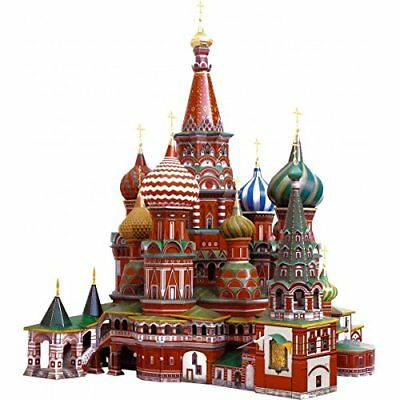 Clever 3D 14195 -Puzzle scatola di Cattedrale San Basilio di Mosca