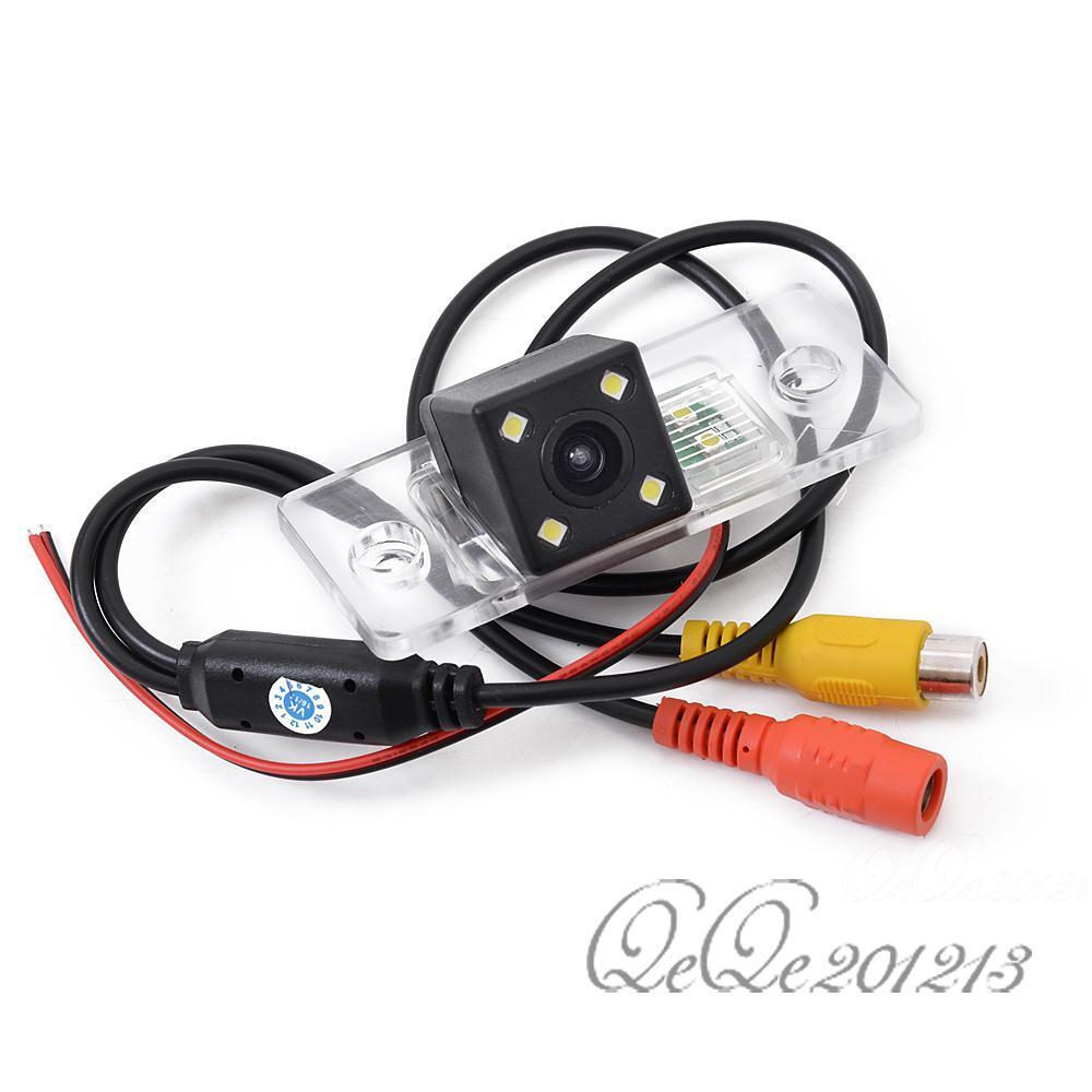 Rear view camera kits ccd chip led for skoda fabia for porsche cayenne 2008 2012