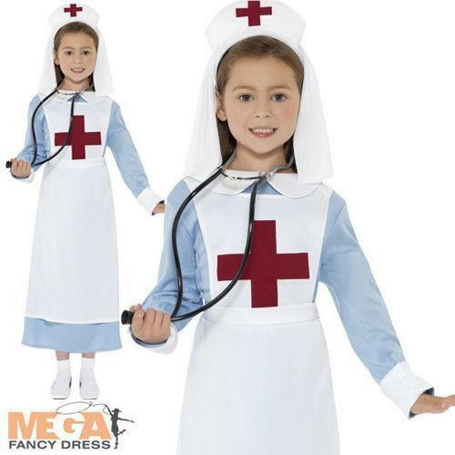 Nurse outfit womens fancy dress ebay childrens nurse outfit solutioingenieria Gallery