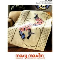 Mary Maxim Hummingbird Afghan kit