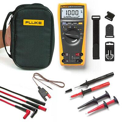 Fluke 179eda-ii Electronics Multimeter And Deluxe Accessory Combo Kit