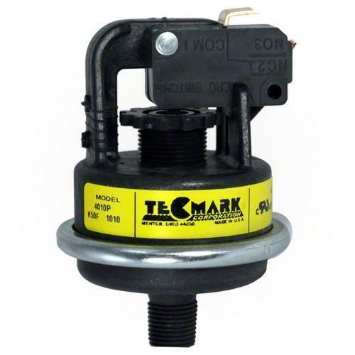 "Tecmark 4010P Pressure Switch 1/8"" MPT Water Flow Heater Switch"