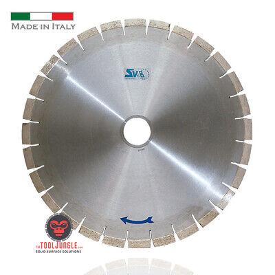 18 Diamond Bridge Saw Blade Quartz Quartzite Granite Silent Core Made In Italy