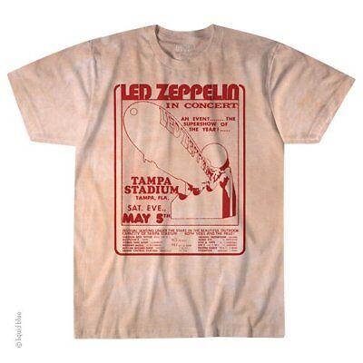 Led Zeppelin In Concert M, L, XL, 2XL Tie Dye T-Shirt](Led Concert)