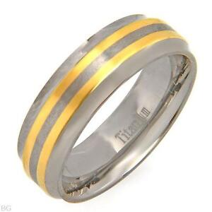 Brand New Titanium Wedding Bands for Guys -sizes 10, 11 & 12 London Ontario image 4
