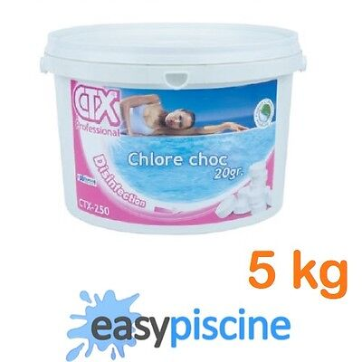 chlore choc pour piscine ctx 250 astral pool pastilles. Black Bedroom Furniture Sets. Home Design Ideas