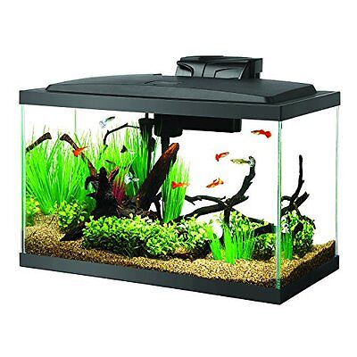 Aqueon Starter Kits Fish Tank Aquarium LED Kit, 10 Gallon Pet Supplies