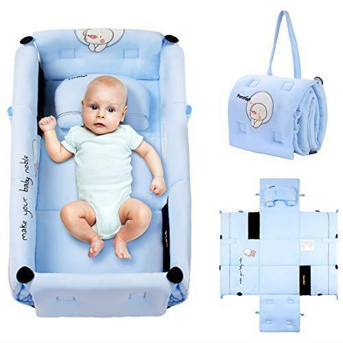 Travel Foldable Baby Crib Bag 3 in1 Multifunction Portable Baby Sleeping Bag
